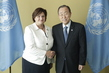 Secretary-General Meets Speaker of Lithuanian Parliament