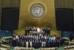 Participants of Fourth World Conference of Speakers of Parliament