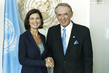 Deputy Secretary-General Meets President of Italian Chamber of Deputies