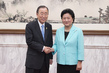 Secretary-General Meets Vice Premier of China