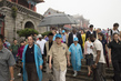 Secretary-General and Mrs. Ban visit to UNESCO World Heritage Site Taishan Mountain. 3.7378633