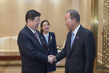 Secretary-General Meets Party Secretary of Shandong Province, China 3.7495537