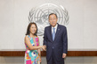 Secretary-General Meets New Director of Ethics Office 7.21674