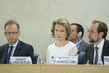 Queen of Belgium Addresses Human Rights Council Panel Discussion 9.307668