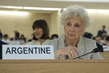 Argentinian Human Rights Leader at Human Rights Council 7.1339483
