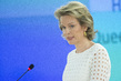 Queen of Belgium Addresses Human Rights Council Panel Discussion 7.1313214