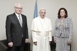 Security Council President and His Wife Meet Pope Francis 1.0