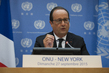 President of France Briefs Press at UN Headquarters 3.1827052