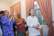 Wife of Secretary-General Hosts Tea for Spouses of Heads of Delegations 4.376561