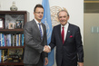 Deputy Secretary-General Meets Hungarian Foreign Minister 7.21674