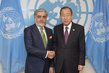 Secretary-General Meets Chief Executive of Afghanistan 2.8510528