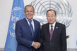 Secretary-General Meets Russian Foreign Minister 2.8530507