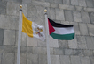Flags of Observer States Fly at UN Headquarters 0.63613147