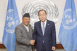 Secretary-General Meets Deputy Prime Minister of Nepal 2.8510528