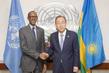 Secretary-General Mets President of Rwanda 2.8510528