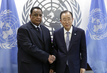 Secretary-General Meets Foreign Minister of Sudan 2.8528807