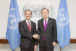Secretary-General Meets Former Foreign Minister of Singapore