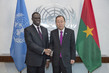 Secretary-General Meets Transitional President of Burkina Faso