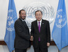 Secretary-General Meets UN Humanitarian Envoy for Kuwait