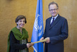 New Permanent Representative of Pakistan to UNOG Presents Credentials