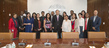 Secretary-General Meets 2015 Reham Al-Farra Journalism Fellows 4.377393