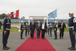 Secretary-General Ban Ki-moon Departs Lima, Peru 2.2796528