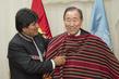 Secretary-General Meets Bolivian President 2.2796528
