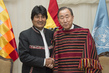 Secretary-General Meets Bolivian President 9.977556