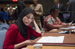 Security Council Debates Women, Peace and Security 9.975661