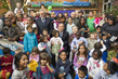 Secretary-General Visits Refugee Reception Centre in Rome 6.1365867