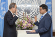 New Head of UNITAR Sworn In 7.22802