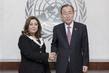 Secretary-General Meets 2015 Nobel Laureate 2.8491726