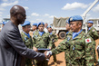 Medal Parade for UNMISS Japanese Peacekeepers 4.464342