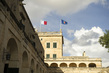 View of San Anton Palace, Malta