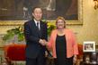 Secretary-General Meets President of Malta