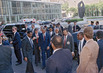 Nelson Mandela (ANC) Arrives at the United Nations 6.6900535