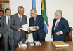 South Africa's President Visits UN Headquarters 6.5854874