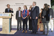 Secretary-General Addresses Civil Society and Press with Al Gore in Paris 6.9197817