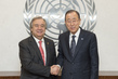 Secretary-General Meets Outgoing UN High Commissioner for Refugees 7.2271857