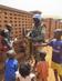 MINUSCA Peacekeeper with Children in Bangui 4.9187603