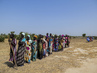 Women Queue to Register for Humanitarian Aid in Leer County, South Sudan 4.462532
