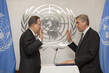 New UN High Commissioner for Refugees Sworn In 7.2279625