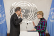 Special Adviser on Refugees and Migrants Summit Sworn In 7.2271857