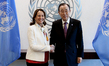Secretary-General Meets Environment Minister of France 2.844683