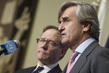 Representatives of New Zealand, Spain Brief Press on Syria Humanitarian Situation 0.651963