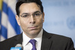 Press Conference wiith Permanent Representative of Israel 3.1832323