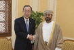 Secretary-General Meets Minister for Defence Affairs of Oman 2.2756348
