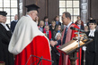 Secretary-General Receives Honorary Degree from University of Cambridge 3.7293527