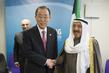 Secretary-General Meets Amir of Kuwait in London 3.7298188