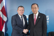 Secretary-General Meets Prime Minister of Denmark in London 3.7293527